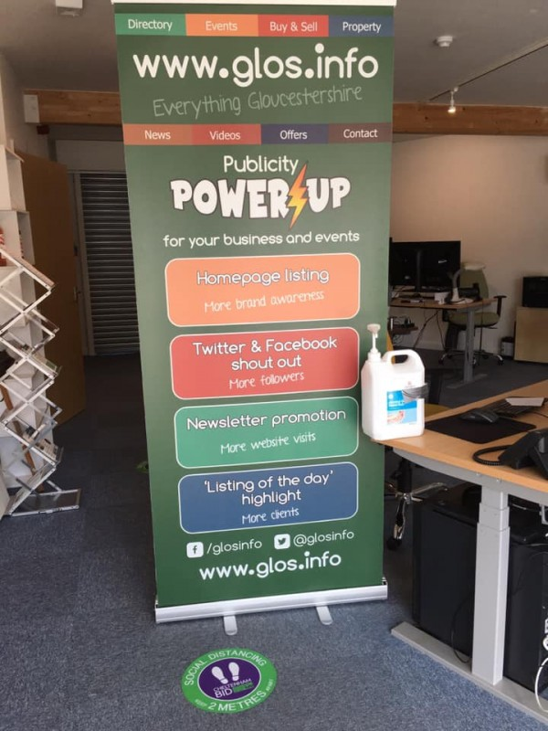 glos.info, GlosJobs and PepUpTheDay.com are now open for business appointments