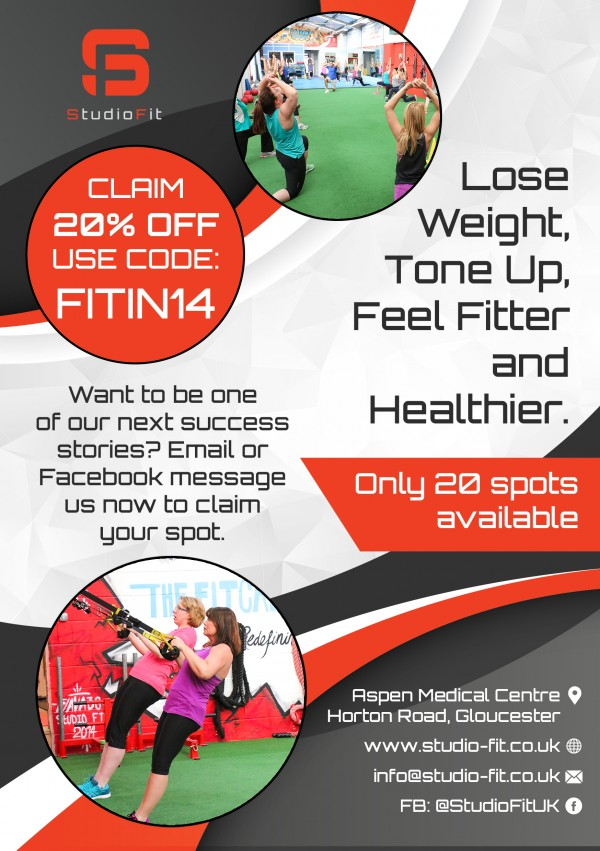 SPECIAL OFFER: Studio Fit 14 Day December Trial