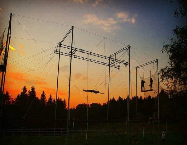 It's a great day to fly! - Flying trapeze club comes to Cheltenham