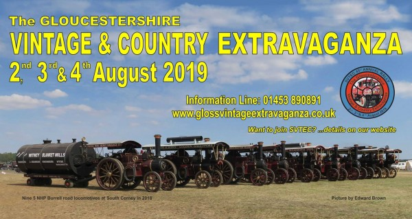 COMPETITION - WIN one of two pairs of tickets to the 45th Annual Gloucestershire Vintage & Country Extravaganza