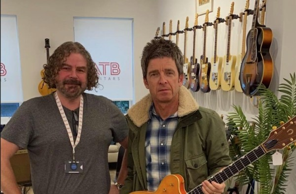 ATB-guitars-noel-gallagher Cheltenham