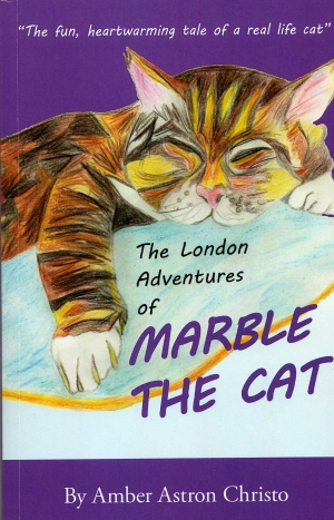 Our first children's book: The London Adventures of Marble The Cat, is OUT NOW!