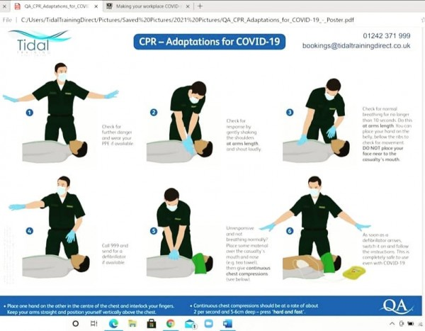 Qualsafe Awards Level 3 Emergency First Aid at Work Training Day - 2021 Dates
