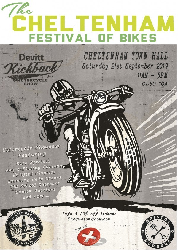 The Cheltenham Festival of Bikes 2019