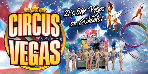 COMPETITION: Win 1 of 10 Family Tickets for Circus Vegas
