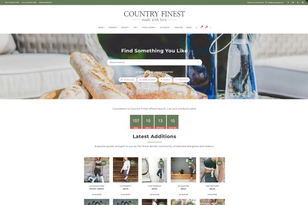 Country Finest - Exquisite goods, brought to you by the finest British community of talented designers and makers