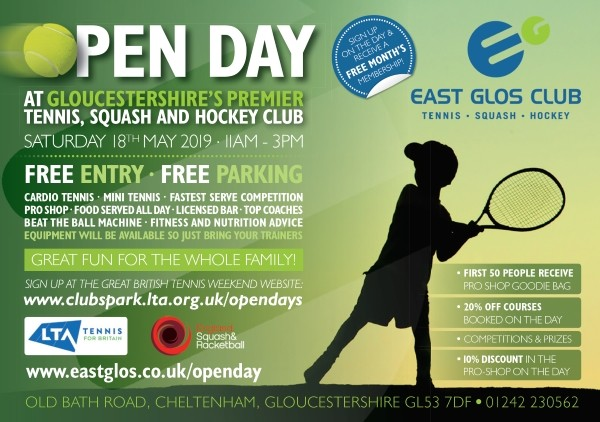 East Glos Club Open Day