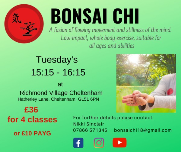 Bonsai Chi Class - Exercise for All at Richmond Villages