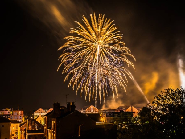 Gloucester Docks firework night 2016