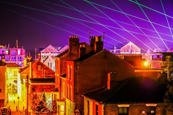 Lasers at Gloucester Docks 2016