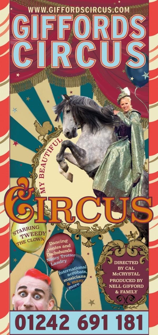 Giffords Circus, My Beautiful Circus 2018 Tour