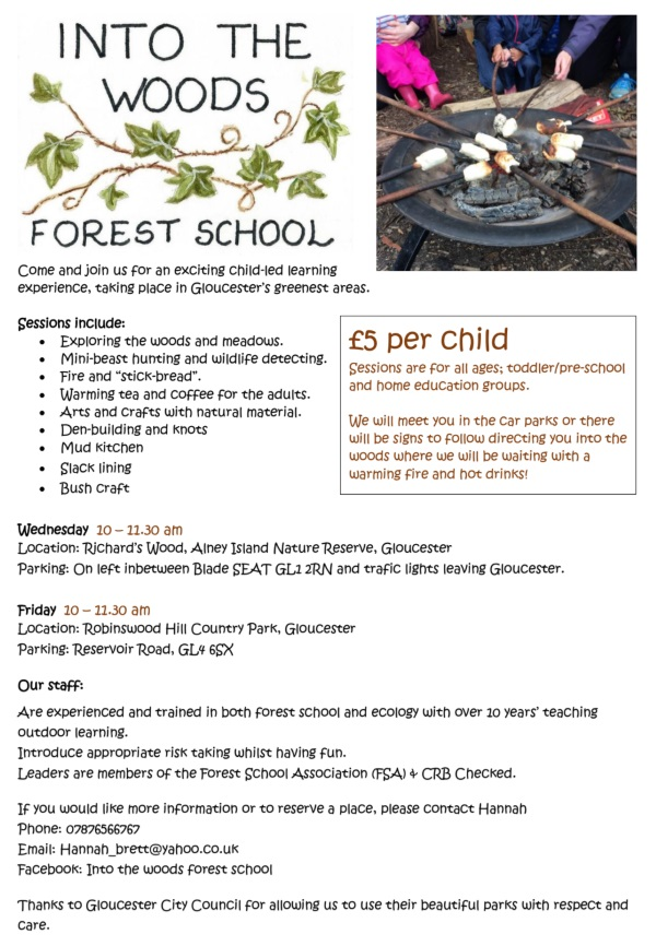 Forest School glos.info