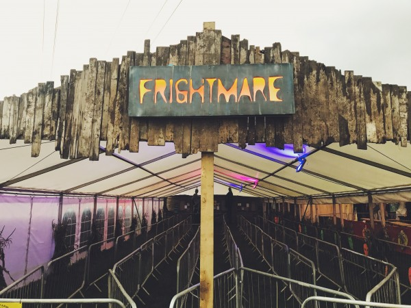 Frightmare Gloucester Entrance