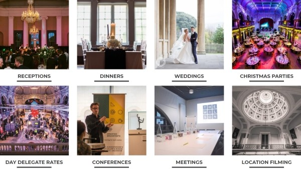 GLORIOUS Events. Venue and Event Specialists. In house Catering, Outside Caterers & Food Delivery Service.