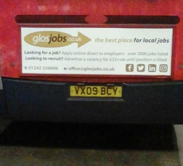 Bus Banner GlosJobs