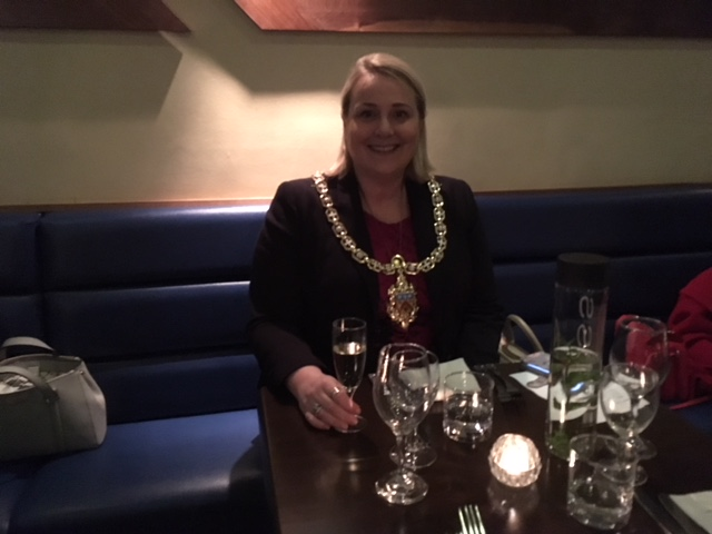 Mayor. Councillor Klara Sudbury