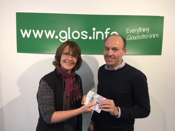 Winner: 12th April 2018 - Ian popped in to pick up his £80 winnings