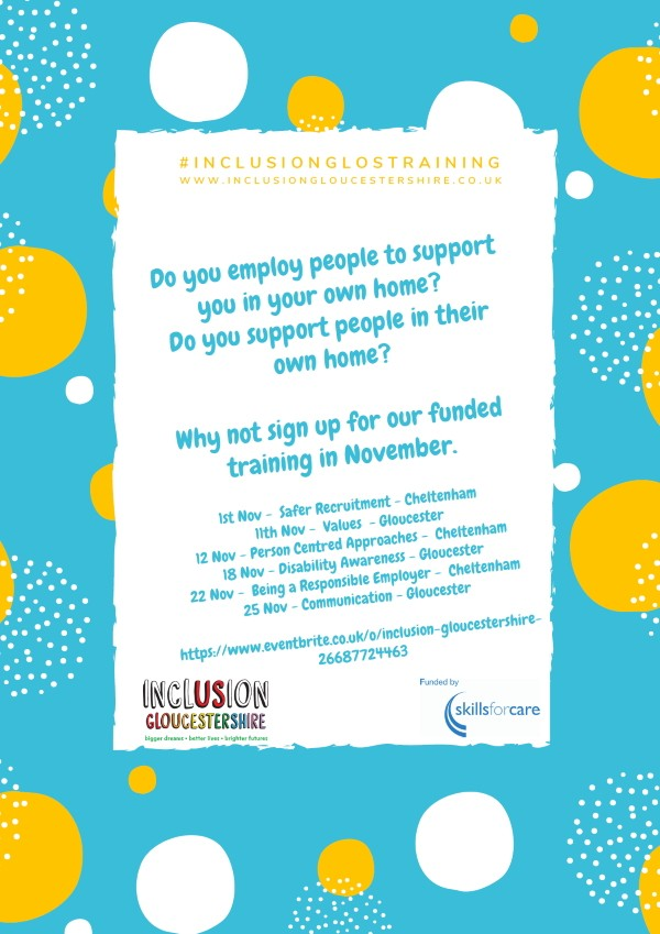 Inclusion Gloucestershire November