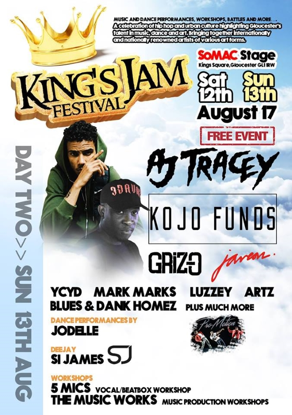 'King's Jam Festival' ft AJ Tracey, Kojo Funds, M.S.B SE Vol 5