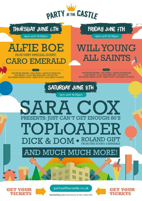 COMPETITION: WIN 1 of 2 pairs of tickets including parking for Party at the Castle this June