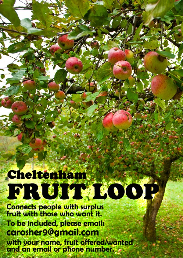 Cheltenham Fruit Loop - Connects people with surplus fruit with