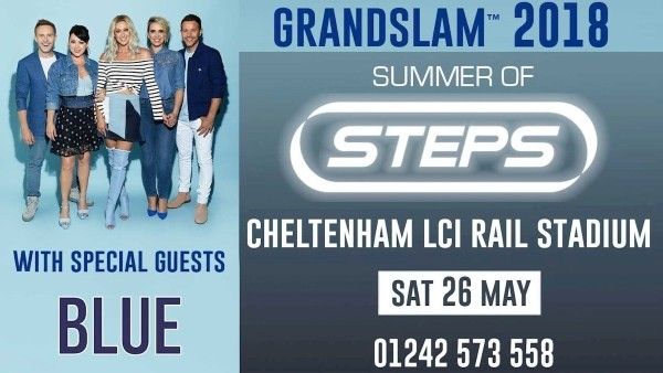 Grandslam 2018: Steps & Blue, LCI Rail Stadium, Cheltenham Town FC
