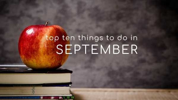 Top Health & Wellbeing Things To Do In September 2018 - NOW IT'S YOUR TURN!