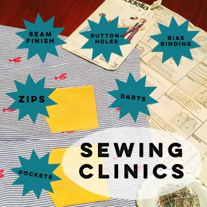 Sewing Clinics with Heather Haskins