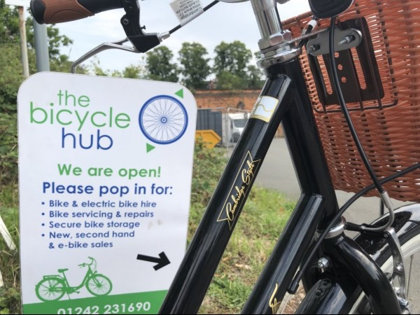 The Bicycle Hub is the only bike hire facility in Cheltenham