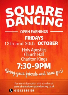 Square Dance Open Evenings