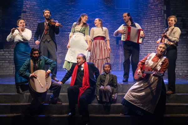 The Cast of A Christmas Carol, Photo Credit_ Evoke Pictures