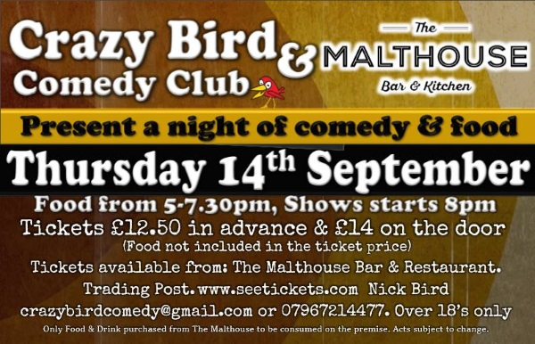 The CrazyBird Comedy Club