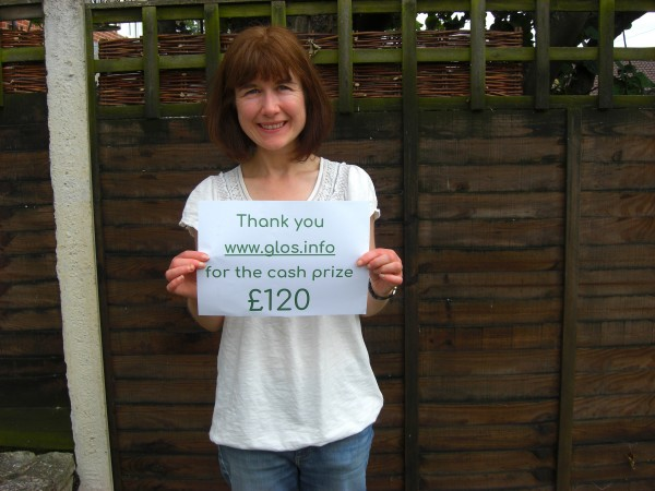 £120 Prize Draw Winner Announced!