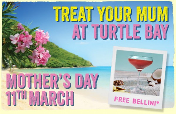 Treat Your Mum at Turtle Bay