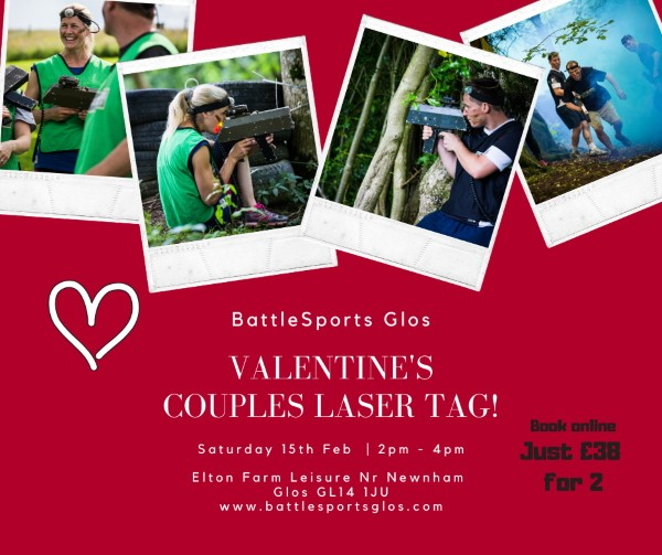 Valentine's Couples Laser Tag Special
