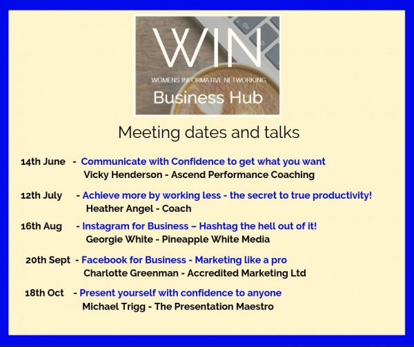 WIN Meeting dates and talks June   Oct (1)