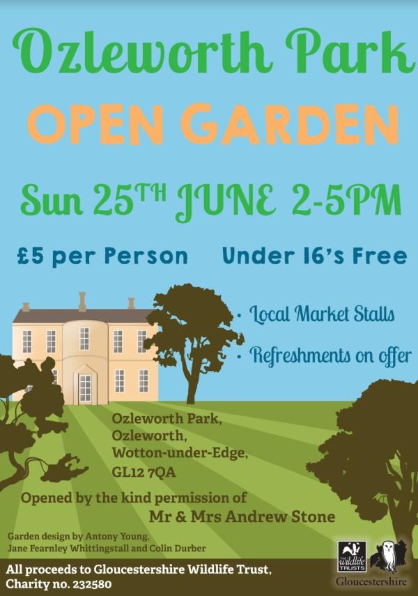 Open Gardens Ozleworth Park