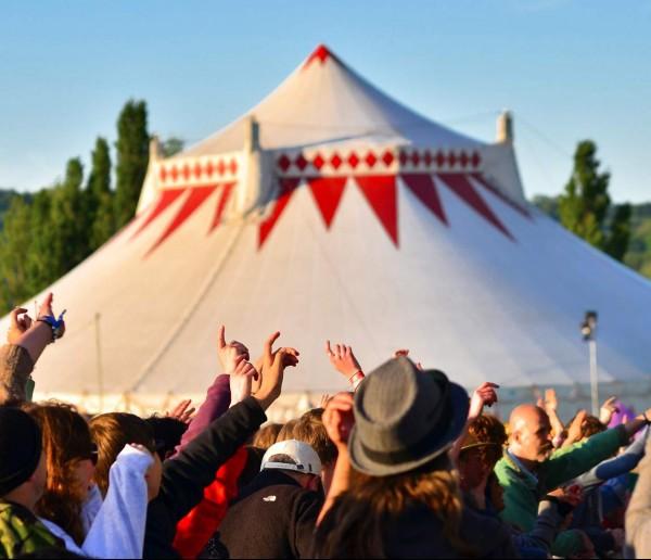 Wychwood Festival Big Top