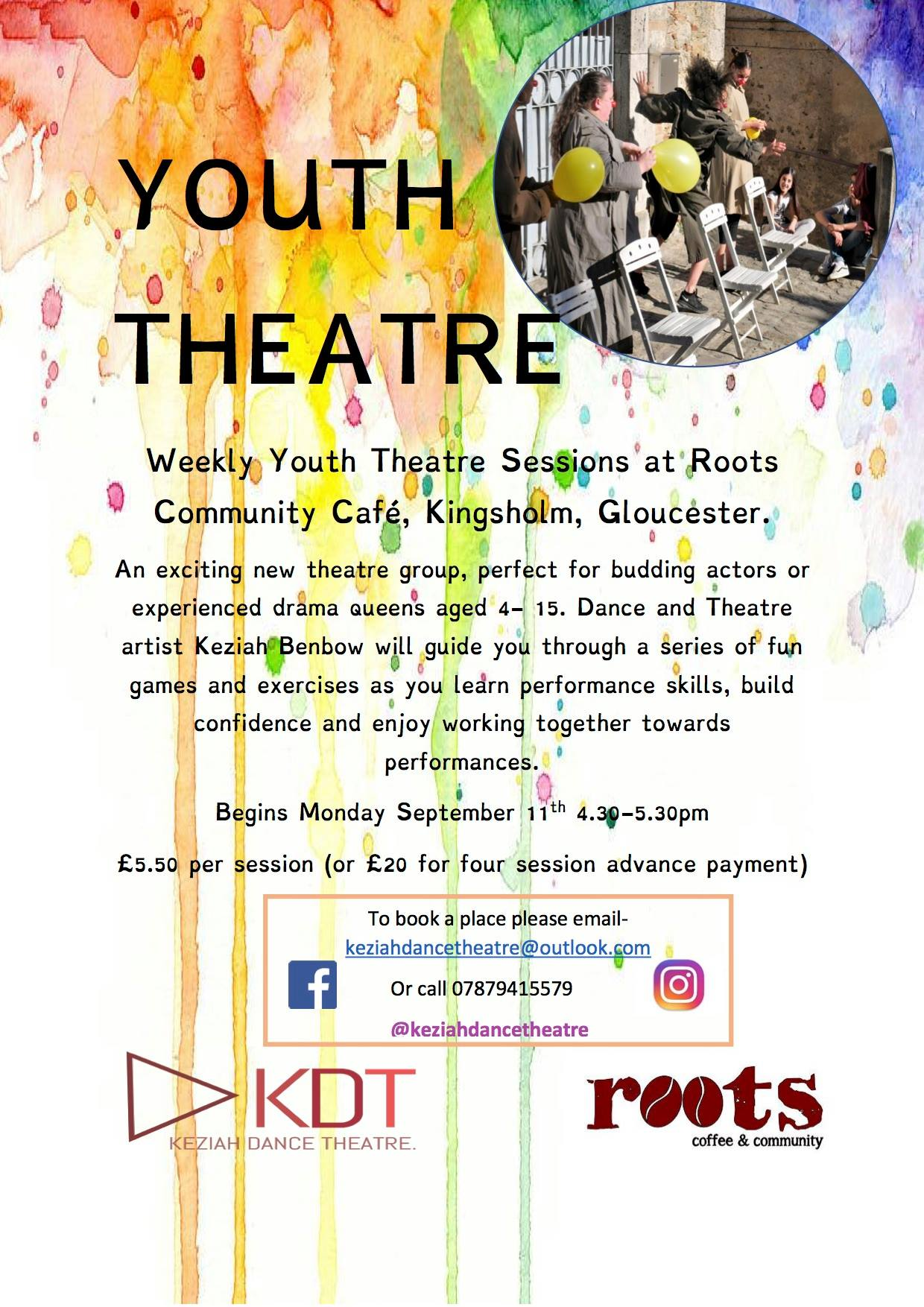 Youth Theatre with Keziah