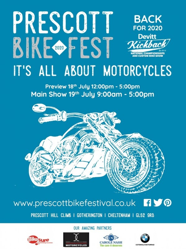 COMPETITION: WIN 1 of 5 Pairs of Weekend Tickets for the Prescott Bike Festival 2020