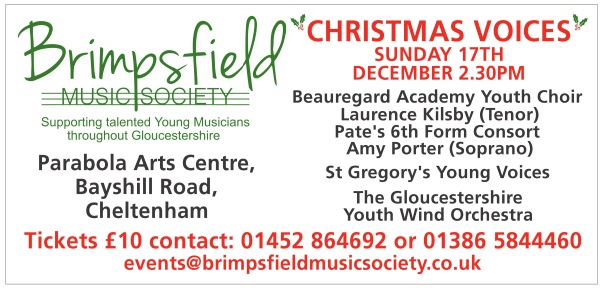 brimpsfield music society christmas