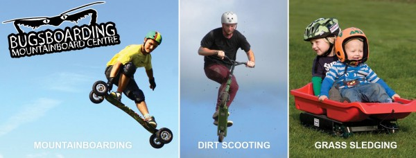 Bugsboarding - Offroad mountain boarding, scooting and sledging