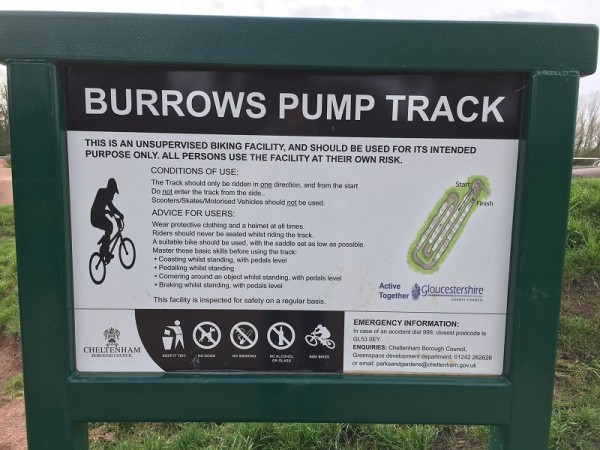 burrows pump track
