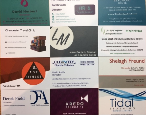 glos info business cards