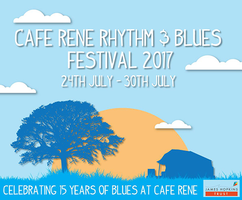 www.glos.info Top Ten for July Cafe Rene Rhythm & Blues Festival 2017