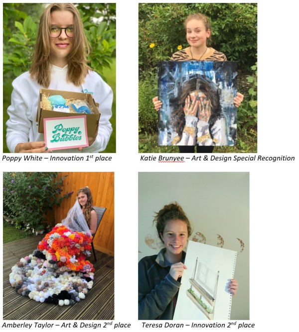 YOUNG STUDENTS FROM ACROSS THE COTSWOLDS WIN PRIZES FOR THEIR TALENT IN THE COTSWOLD CHALLENGE 2021
