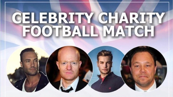 Star-studded line-up for celebrity match at Cheltenham Town FC