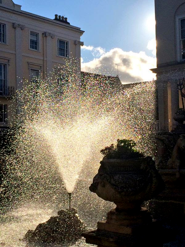 cheltenham spa fountain photo