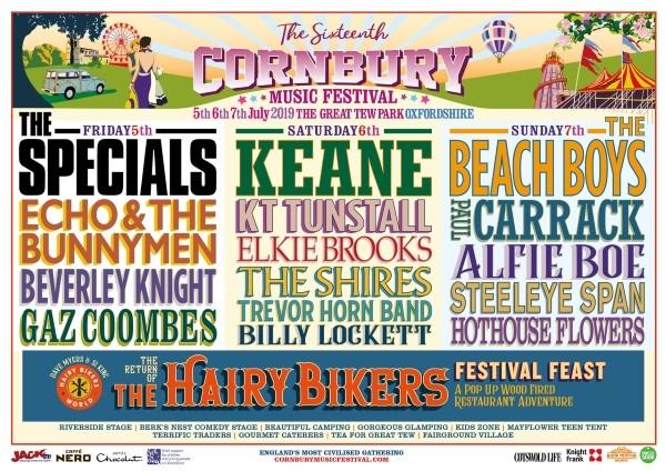 cornbury music festival 2019 lineup
