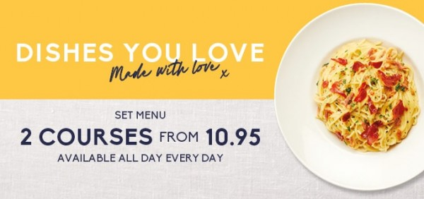 dishes you love offer